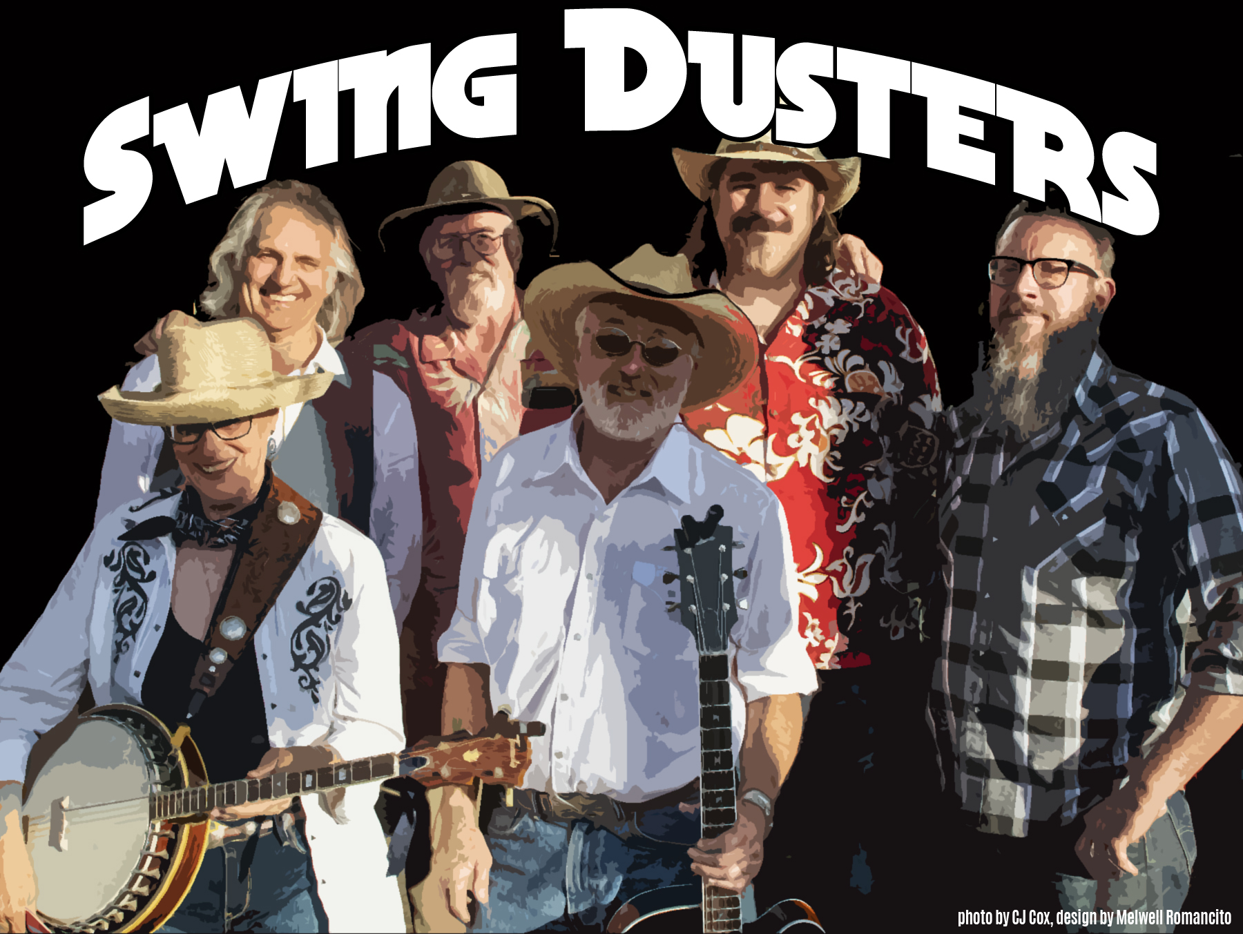 Swing Dusters, photo by CJ Cox, design by Melwell